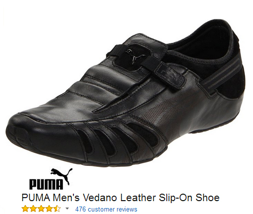 Vedano Puma sport shoes without laces