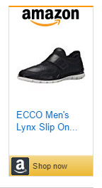ecco lynx slip on sneakers for men