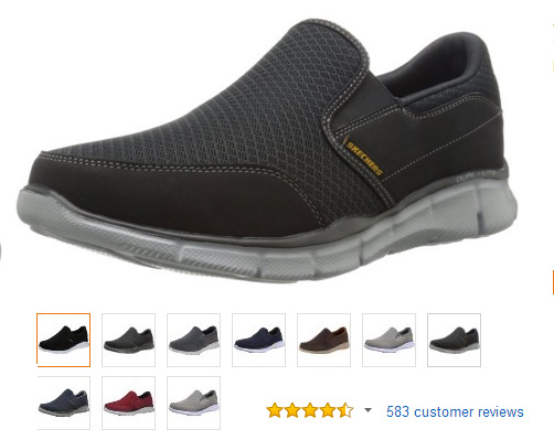 Skechers Lifestyle Equalizer Fashion Sneakers.