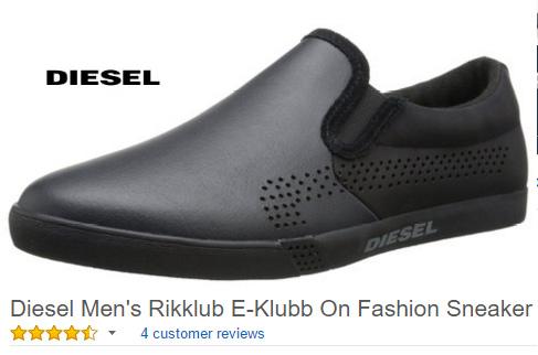 Diesel Men's Rikklub E-Klubb