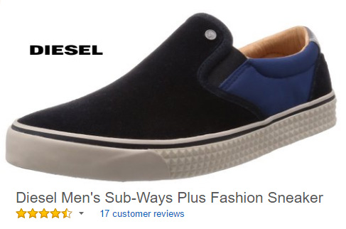 Diesel Men's Sub-Ways Fashion Sneaker