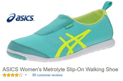 Slip-On Sneakers Women ASICS Metrolyte