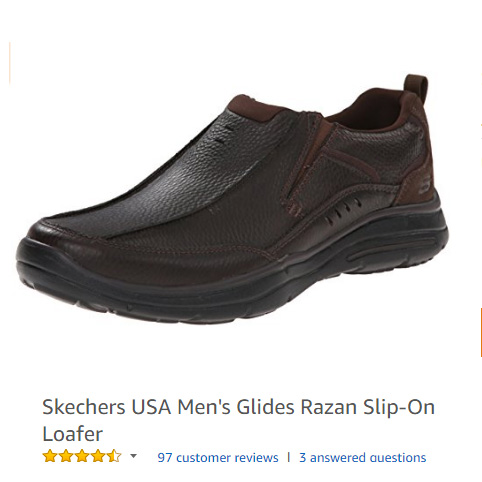 Skechers USA Men's Glides Razan Slip-On Loafer